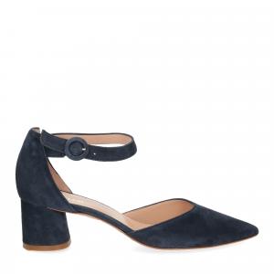 Il Laccio sandaliera blu-2