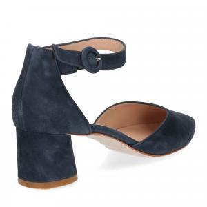 Il Laccio sandaliera blu-5