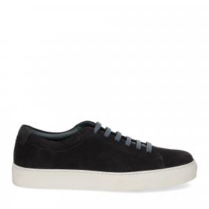 Griffi's sneaker camoscio blu-2