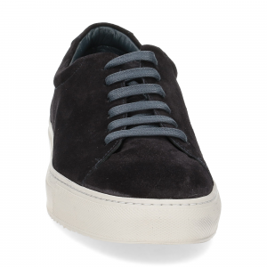 Griffi's sneaker camoscio blu-3
