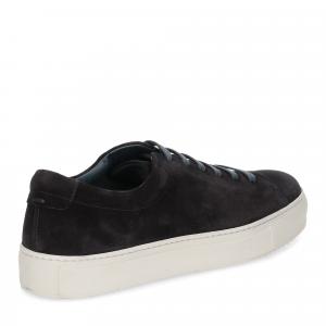 Griffi's sneaker camoscio blu-5