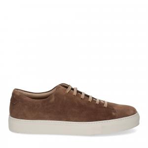 Griffi's sneaker camoscio noce-2