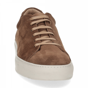 Griffi's sneaker camoscio noce-3
