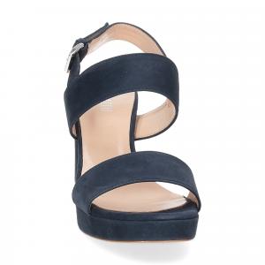 Il laccio Sandalo E2700 camoscio blu-3