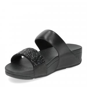 Fitflop Sparklie Crystal slide black-4