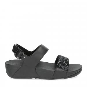 Fitflop Sparklie Crystal Sandal black-1
