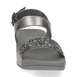 Fitflop Sparklie Crystal Sandal pewter-3