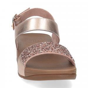 Fitflop Sparklie Crystal Sandal rose gold-3