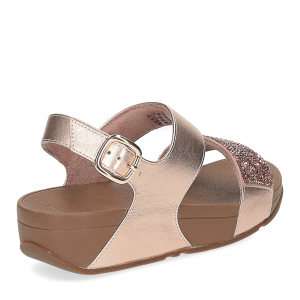 Fitflop Sparklie Crystal Sandal rose gold-5