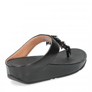 Fitflop Rumba toe thong sandal black-5