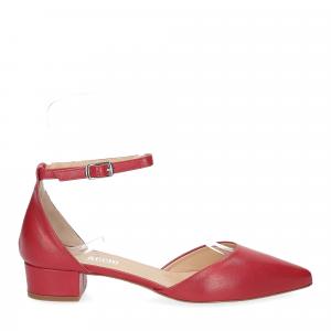 Il Laccio décolleté sandaliera pelle rossa-2