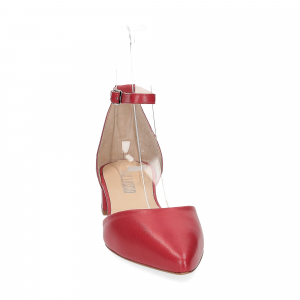 Il Laccio décolleté sandaliera pelle rossa-3