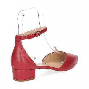 Il Laccio décolleté sandaliera pelle rossa-5