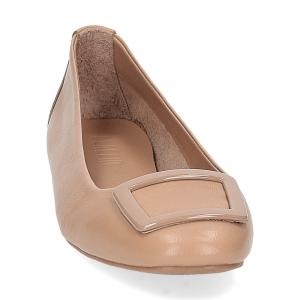 Laccio ballerina 18107 fibbia pelle beige-3