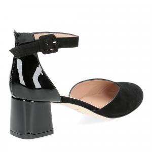 Andrea schuster sandaliera camoscio nero-5