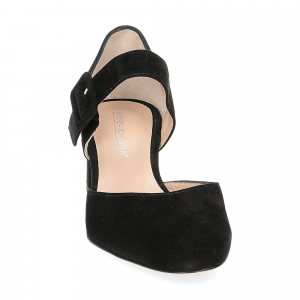 Andrea schuster sandaliera camoscio nero 5cm-3