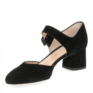 Andrea schuster sandaliera camoscio nero 5cm-4