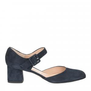 Andrea schuster sandaliera camoscio blu 5cm-2