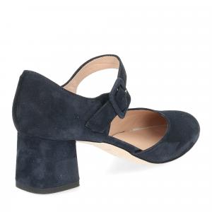 Andrea schuster sandaliera camoscio blu 5cm-5