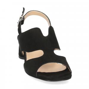 Andrea Schuster sandalo camoscio nero-2
