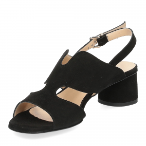 Andrea Schuster sandalo camoscio nero-4