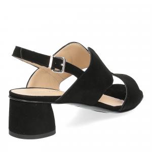 Andrea Schuster sandalo camoscio nero-5