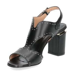 Andrea Schuster sandalo pelle nera borchiette-3