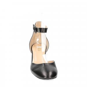 Il laccio sandaliera in pelle nera-2