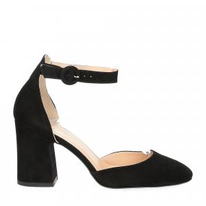 Il laccio sandaliera nera-2