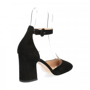 Il laccio sandaliera nera-4