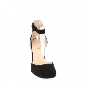 Il laccio sandaliera nera-5