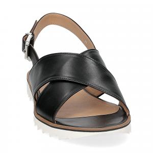Siton sandalo pelle nera-2