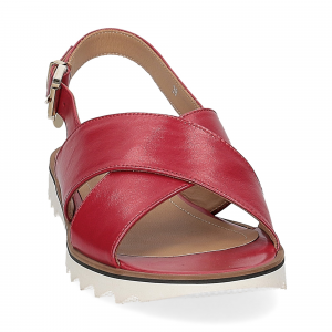 Siton sandalo pelle rossa-2