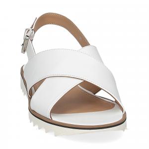 Siton sandalo pelle bianca-3