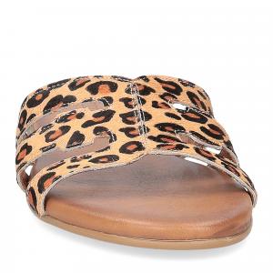 Il laccio ciabatta in cavallino leopardato-3