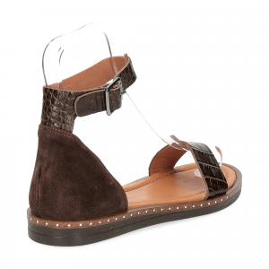 Il laccio sandalo in pelle testa di moro-5