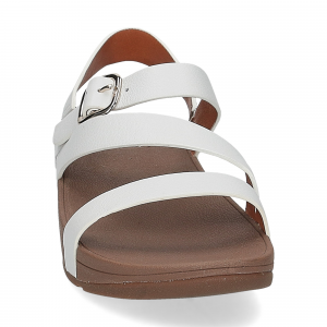 Fitflop the skinny z cross sandals urban white-3