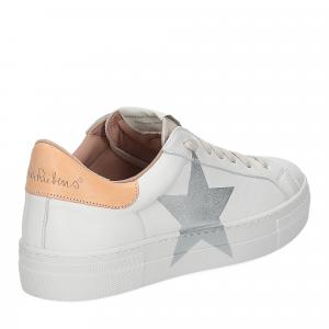 Nira Rubens Martini sneaker bianca stella class camel-5