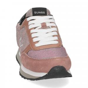 Sun68 Kate mesh glitter pink-3
