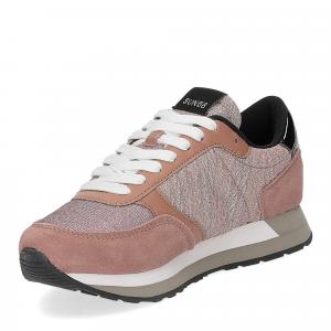 Sun68 Kate mesh glitter pink-4