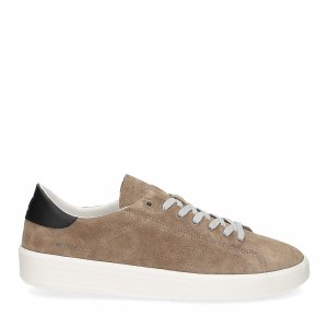 D.A.T.E. Ace suede taupe-1