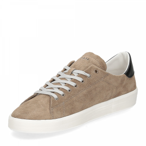 D.A.T.E. Ace suede taupe-4
