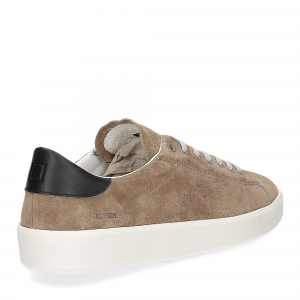 D.A.T.E. Ace suede taupe-5