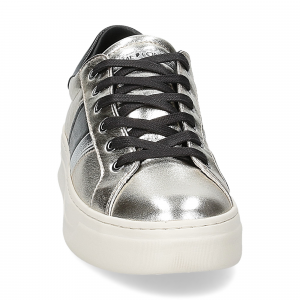 Crime London Sonic sneaker platino-3