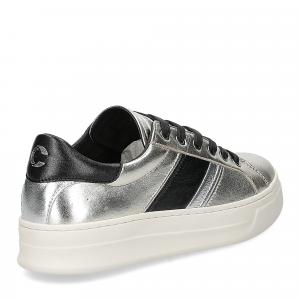 Crime London Sonic sneaker platino-5