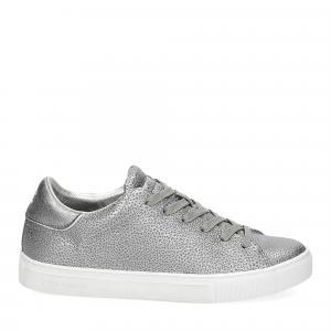 Crime London Beat sneaker argento-1