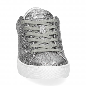 Crime London Beat sneaker argento-3
