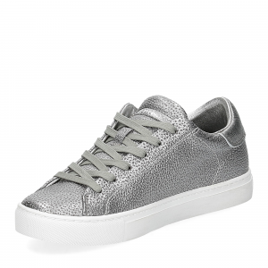 Crime London Beat sneaker argento-4