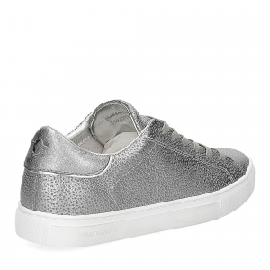 Crime London Beat sneaker argento-5