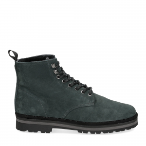 Panchic Ankle boot nubuk lining shearling deep-2